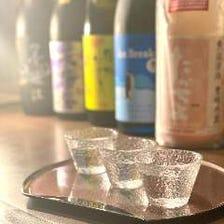 季節の日本酒を楽しめる店