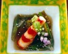 こだわり食材の繊細な日本料理