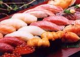 こだわりの新鮮素材が寿司の美味しさに通じます!