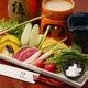 野菜ソムリエ厳選の和風バーニャカウダー