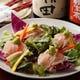 鮮度バツグン!海鮮サラダ