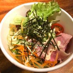 野菜ソムリエ荻山サラダうどん弁当