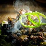 オススメは宮崎名物もも炭火焼!噛めば噛むほど旨味アップ◎