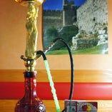 アロマの香りに癒される水タバコ