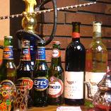 珍しいビールやお酒を豊富にご用意!