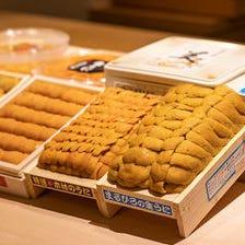 厳選【雲丹】の食べ比べ