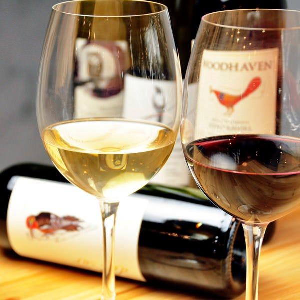 今夜は豊富なワインで乾杯♪