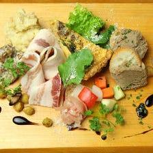 【名物】前菜の盛り合わせ