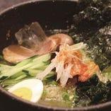俺の冷麺 850円/牛スープと昆布の相性が抜群の牛長名物