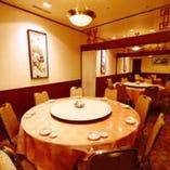 【完全個室の中華円卓】全部で4部屋。繋げて大人数もOK♪