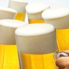 ◆タイムサービス◆週末は終日生ビール300円