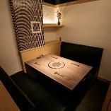 【2〜4名様×4卓】周りの目を気にせずお食事を楽しめる完全個室のテーブル席