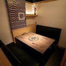 接待・会食に相応しいモダンな個室