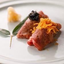 肉の良さを存分に引き出す本格調理