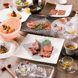 当店が厳選した料理を心ゆくまで堪能できる『椿』コース<全11品>