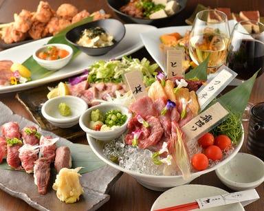 津田沼 肉寿司  コースの画像