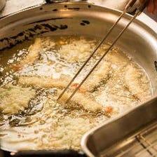 ◆新鮮素材にこだわった天ぷら