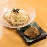 天ぷらと合わせて食べていただきたい「秋田名物!稲庭うどん」