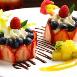 〆はやっぱり…デザートですよね!!