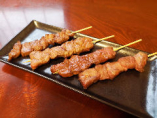 串焼き盛り(カルビ、タン塩、ロース、ランプ)
