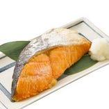 厚切甘塩鮭焼き
