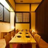 熊本下通りエリア人気の隠れ家個室居酒屋は宴会・飲み会に