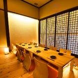 熊本下通りでの宴会に最適なお座敷個室・フロア貸切も可能です