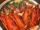 選べるプレミア鍋! オマール海老濃厚海鮮鍋 〆の雑炊最高♪