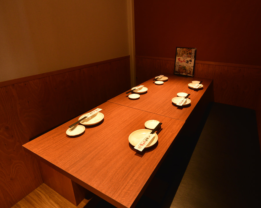 少人数でご利用頂けるテーブル席