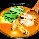 牡蠣辛味噌鍋