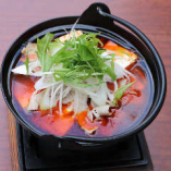 肉豆腐の四川鉄鍋