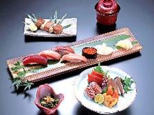 にぎり鮨と刺身のセット 潮騒 Shiosai