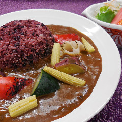 【おすすめ】ごろごろ野菜大和古代米カレー