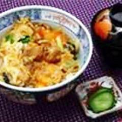 大和肉鶏のすき焼き風丼