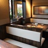 1階 テーブル ボックス席