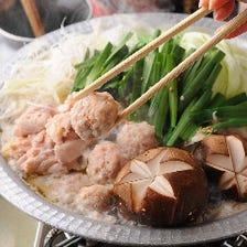 焼鳥屋の鶏ちゃんこ鍋