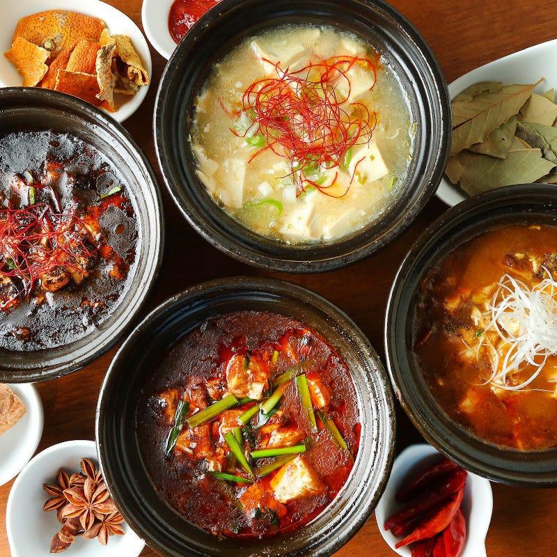本格中華料理の数々