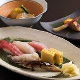 寿司御膳は気軽な接待・会食にオススメ