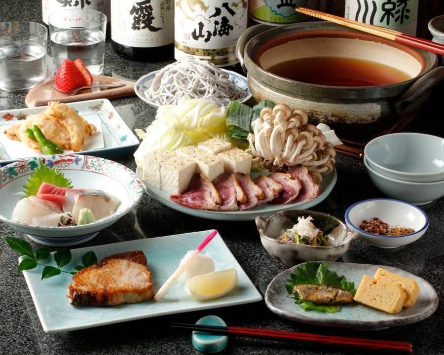 季節の旬が味わえる 料理のみ4,400円・2名様~