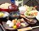 ひばり膳 2,500円 手まり鮨 地鶏かえし焼き お蕎麦・・