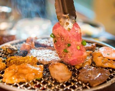 毎日日替り6種肉半額 和牛炭火焼き 焼肉105 人形町 こだわりの画像