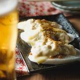 山芋肉味噌チーズ焼き