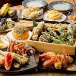 美味しい天ぷらが揃ってます!!