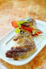 イベリコ豚の串焼き