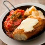のびーるチーズのイタリアン風パネチキン