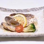 鯛のオーブン焼き ~レモンバターソース~