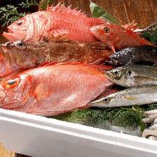 【地産地消】淡路の魚や国産の食材