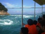 自然を楽しみたい方、来島海峡急流観潮船がおすすめです!