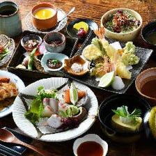 【料理のみ】4,000円コース<全9品>|宴会 接待 飲み会 打ち上げ 記念日