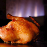 丸ヒナ鶏の香草オーブン焼き